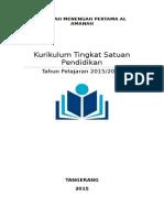 Standar Isi SMP Al Amanah Tangerang