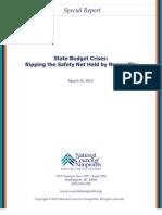 State Budget Crises