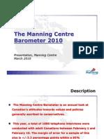 Manning Centre Barometer 2010