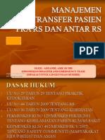 Transfer Pasien 12092015