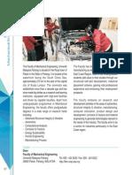 Prospectus_Faculty of Mechanical Engineering