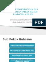 ETIKA PENGEMBANGAN DAN PENERAPAN IPTEKS DALAM PANDANGAN ISLAM.pptx