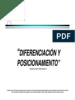 Diferenciacion y Posicionamiento