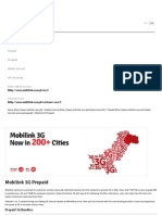Mobilink 3G Prepaid - Mobilink - Har Dil