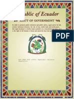 Noma de Calidad. Ecuador