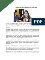 Evo Morales Fue Habilitado Para Disputar Su Reelección