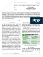 A Review on Algae Biodiesel a Novel Source of Renewable Energy in India
