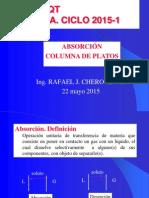 Absorción Columna de Platos