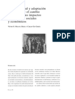 Vulnerabilidad Y Adaptacion Regional Ante El Cambio Clima