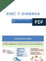 Zinc y Diarrea