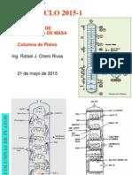 Columna de Platos Perforados
