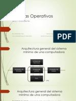 Generalidades de los Sistemas Operativos