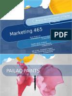Re-branding of Pailac Paints