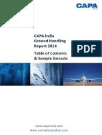 CAPA - Ground Handling Report
