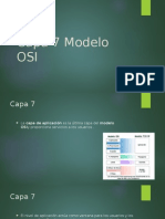Capa 7 Modelo OSI