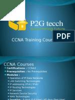 CCNA Training in Chennai - P2G Tecch