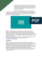 Nota Sobre Arduino - Diego J.Q. Aranda