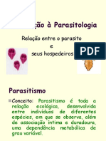 Introdução à Parasitologia