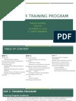 facilitator training program teresa hummel