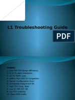 L1 Troubleshooting Guide