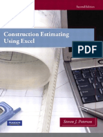 Construction Estimating Using Excel 2nd Edition