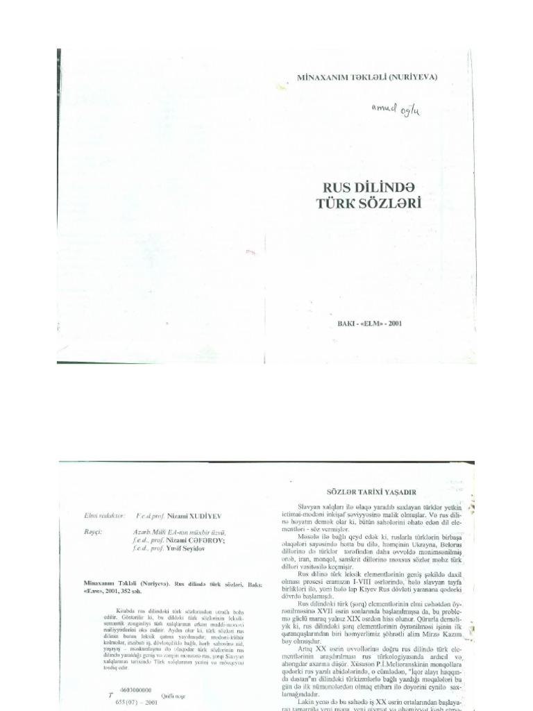 0039 Rus Dilinde Turk Sozleri 82 655kb Pdf
