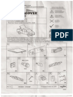 Duracover Tonneau Cover Toyota Tundra Install Instructions