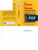 Rayachaudhuri the Dictionary of Hindustani Classical Music