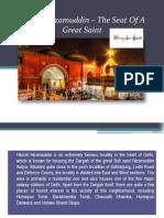 Hazrat Nizamuddin – the Seat of a Great Saint