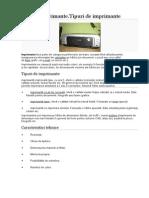 Imprimanta.tipuri de Imprimante