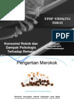 Konsumsi Rokok Dan Dampak Psikologis Terhadap Remaja