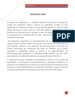 Ensayo de Compresion Ino Confinada ANTHONY