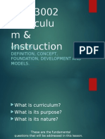 Curriculum (Intro)