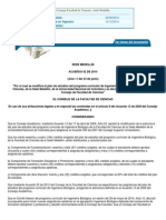 Acuerdo IB Plan de Estudios 2 2014