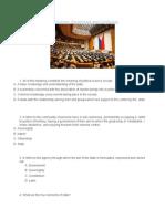 Practice Test in Social Science