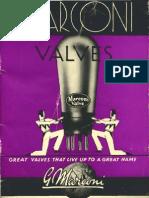Marconi Valves Catalogue