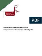 Cuestiones de Paz en San Agustin Ensayo Sobre Cuestiones de Paz en San Agustin