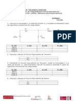 12.- Práctica Teorema de Thevenin y Norton