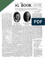 DMSCO Log Book Vol.14 1937