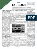 DMSCO Log Book Vol.15-16 1938