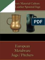 Drinking - Jugs Metalware & Leather