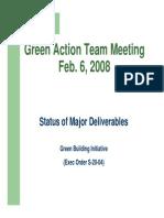 20080206 GAT Status of Major Deliverables