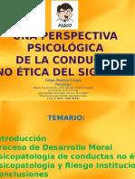 Perspectiva Psicológica de la Conducta Pro Etica