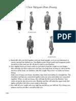 How to Do Basic Chen Taijiquan Zhan Zhuang