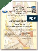Informe Final - Diseño de Mezcla