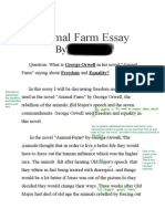 final copy animal farm essay example