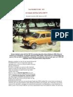 Fiat 128 TV - Corsa magazin