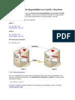 Cluster HTTP en Alta Disponibilidad Con CentOS