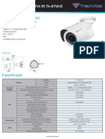 Datasheet  camera T1-4TV1E
