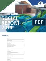Deuter Social Report 2014 deutsch